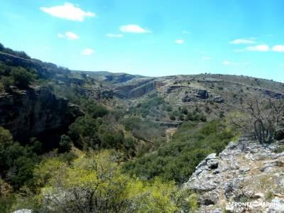 Parque Natural Barranco Río Dulce;puente de diciembre valverde de los arroyos almanzor segobriga